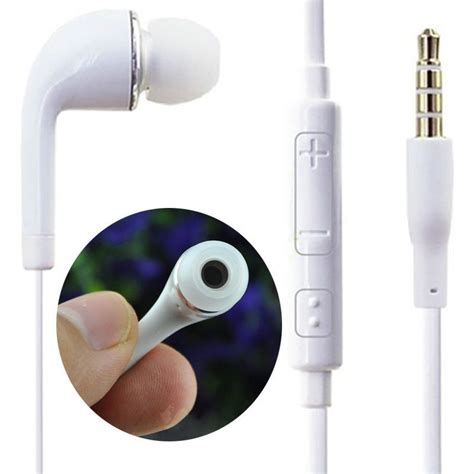 Headset Earphone Samsung Galaxy S6 Galaxy Note 5 Original 100 3 5mm earphone earbud headset with mic for samsung galaxy s4 s5 s6 note 5 us493