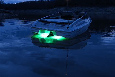 ski boat underwater lights rgb led underwater boat lights and dock lights dual
