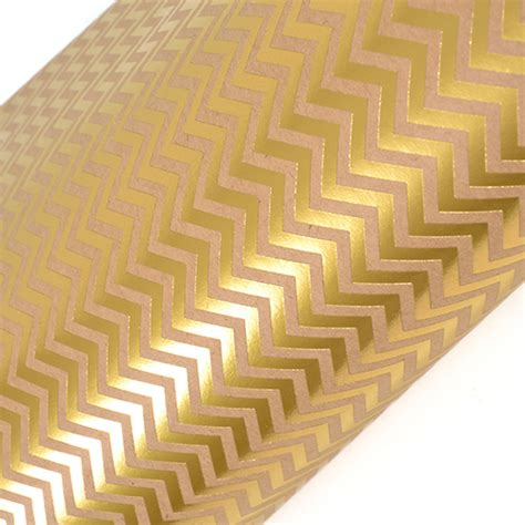 Gold Craft Paper - sei 12 x 12 craft paper with foil accents gold chevron