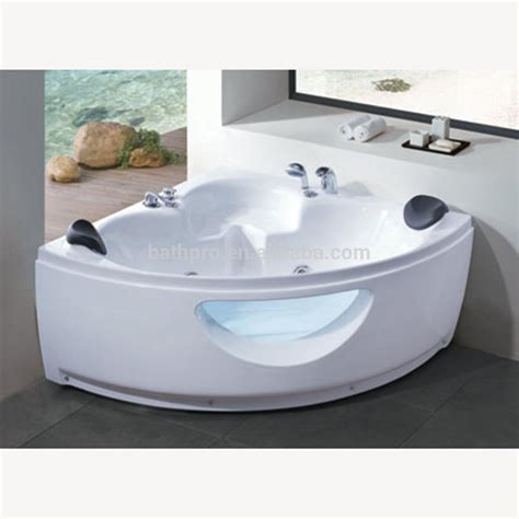 buy jacuzzi bathtub foshan small size corner double whirlpool massage bathtub