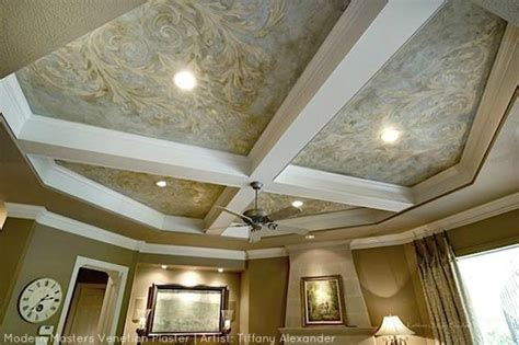 plaster ceiling designs coffered ceiling designs interior modern masters venetian plaster modern masters cafe blog