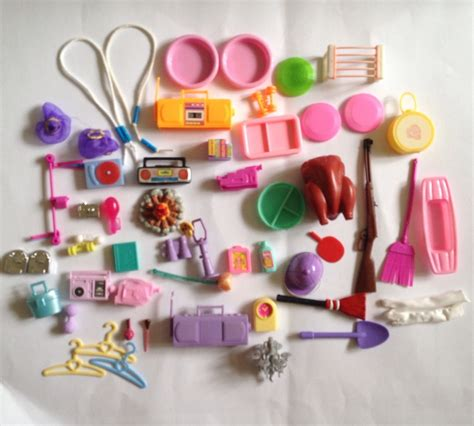 barbie doll house accessories lot dollhouse doll accessories vintage modern for barbie and others cad 18 72