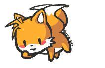 Sonic The Hedgehog Wall Stickers cute tails sonic the hedgehog photo 37674417 fanpop
