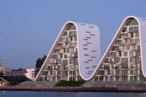 Contemporary House Plans Single Story the wave vejle denmark building henning larsen