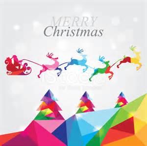 merry modern modern merry christmas landscape with santa in reindeer sleigh stock photos freeimages com