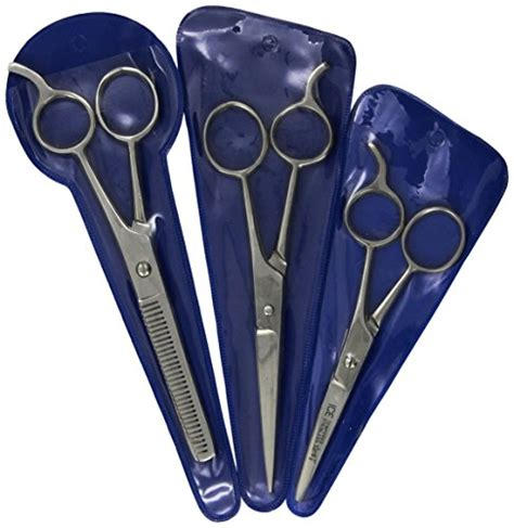 combpal pro haircutting tool hair cutting scissors precision 3 piece barber shears set