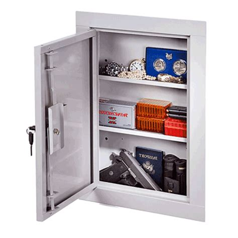 stack on iwc 22 in wall cabinet in wall gun safe reviews wall safes 2017