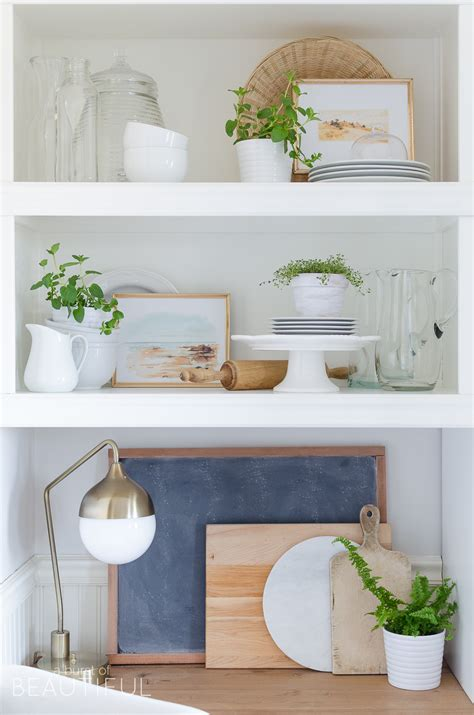 open shelving in kitchen how to style open shelving in the kitchen a burst of