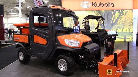 kubota side by side prices 2017 kubota rtv x1100 c diesel utility atv with snow