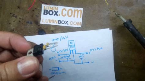 youtube cara membuat lu led cara buat led driver 10 watt pakai ic l7810cv youtube