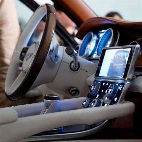 bentley exp 9 f interior 382 best interface hmi images on car