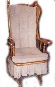 Replacement Glider Rocking Chair Cushions Newport Glider Upholstered Platform Rocking Chair Ebay