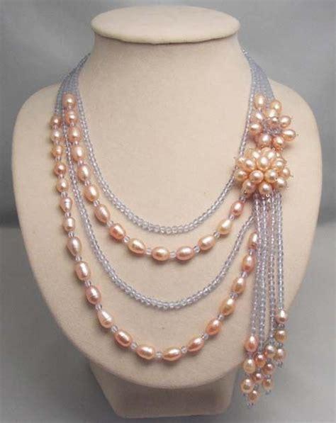 Kalung Nama Emas Mewah 5 16 model kalung manik wanita terkeren cuakep