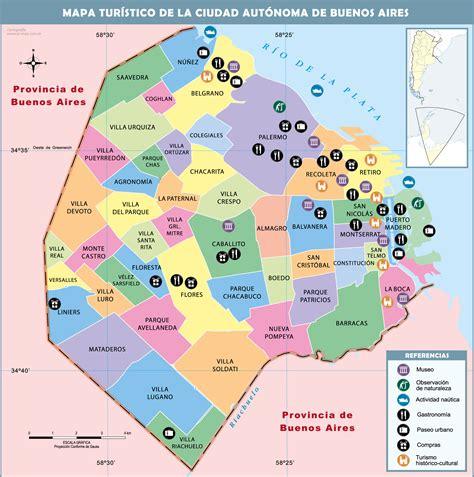 mapa america buenos aires mapa capital y gran buenos aires