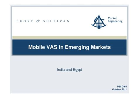 mobile vas mobile vas in emerging markets executive summary