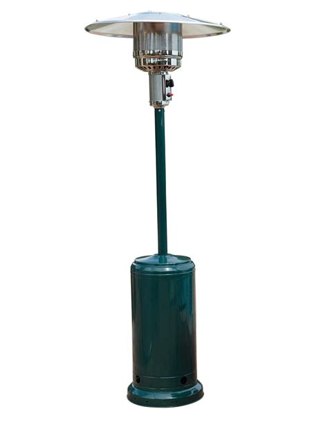 Full Height Patio Gas Burner Heater Green 41000 Btu H Patio Heater Safety