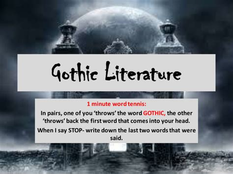 gothic themes in great expectations sammatthew s shop teaching resources tes