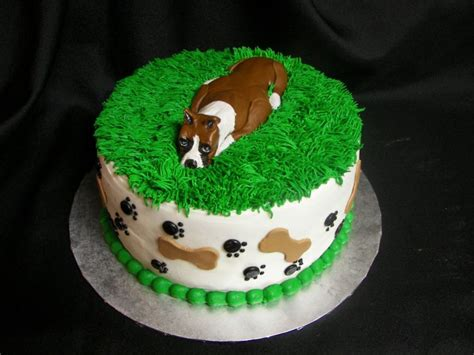 birthday cake for dogs boxer birthdays the daily boxer