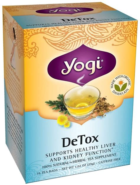 Yogi Detox Tea Benefits by 25 Best Dandelion Tea Detox Ideas On