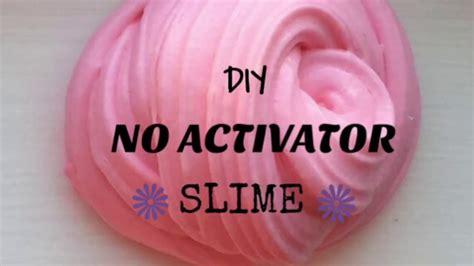 tutorial slime activator diy no activator slime no borax liquid starch or