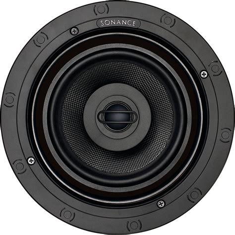 Sonance In Ceiling Speakers by Sonance Black Vp 6 5 Quot In Ceiling Speakers 93014 Abt