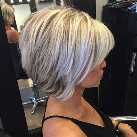 tapered bobs with tail in back 50 short bob hairstyles 2015 2016 short bobs bob
