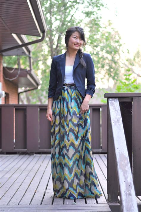 the one hour 2 in 1 maxi dress or skirt tutorial