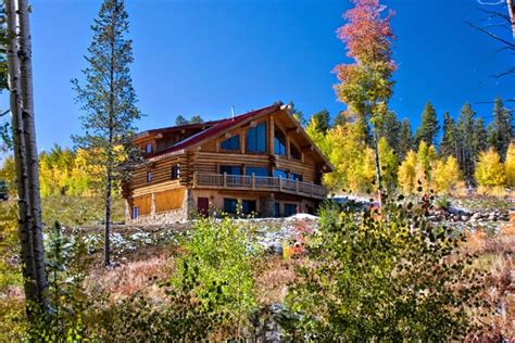 Log Cabin Rentals Colorado by Beautiful Bright And Airy Deluxe Log Cabin Vrbo