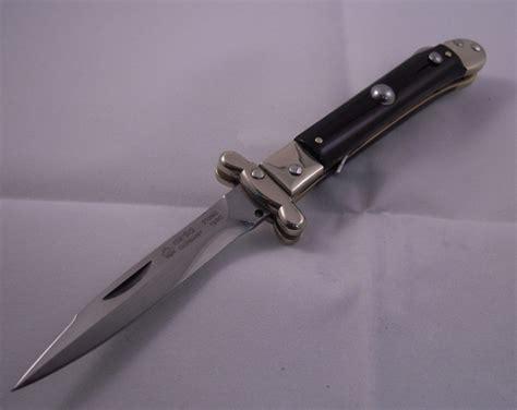 medici knife medici custom horn swinguard automatic