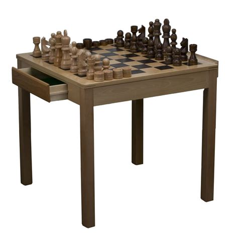 chess table size indoor outdoor chess table with chess pieces