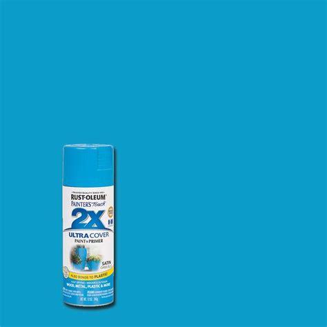 home depot spray paint blue rust oleum painter s touch 2x 12 oz oasis blue satin