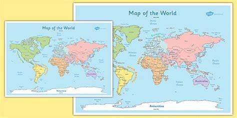 map world ks1 ks1 world map poster ks1 world map poster display pack