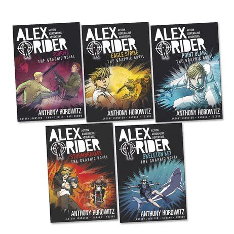 Eagle Strike Graphic Novel alex rider graphic novels pack x 5 scholastic club