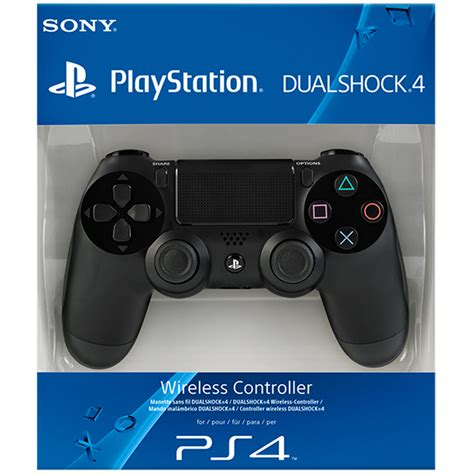ps4 controller dual shock 4 black playstation remote