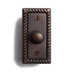 Bell Door beaded rectangular doorbell hardware