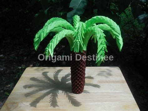 Origami Palm Tree - origami palm tree destinee foundmyself