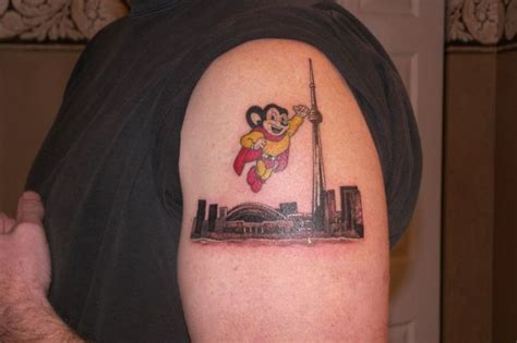 mighty mouse tattoo mighty mouse mice
