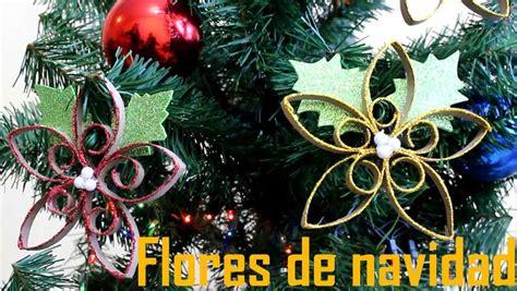 como hacer flores de papel para navidad flores de navidad con papel reciclado manualidades de lina