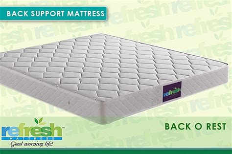 Mattress Refresher by Refresh Mattress Best For Back Problem Quot Back O Rest Quot 72 Quot X 36 Quot