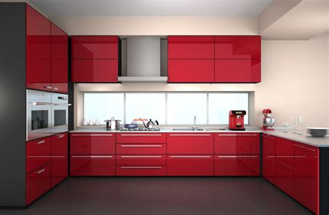red kitchen furniture 2017 new design design high gloss lacquer kitchen cabinets