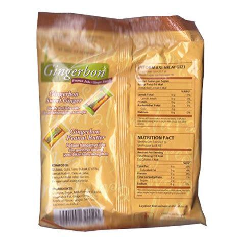 Permen Jahe gingerbon permen jahe with milk jahe 100 gram 3 5 oz pack of 3