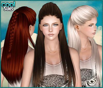 the sims 3 cc hair female hair coolsims 105 hair the sims 3 custom content