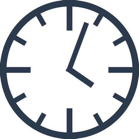 Simple Clock | clipart simple clock