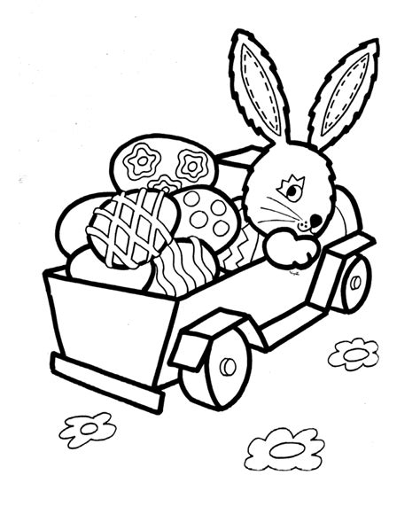 coloring pages of easter eggs and bunnies easter bunny coloring pages for coloring home