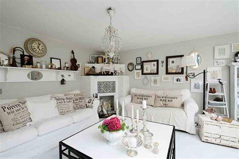 wohnung landhausstil wohnen ganz romantisch landhaus look