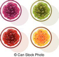 vasi di frutta vasi marmellata set frutta bacca set frutta