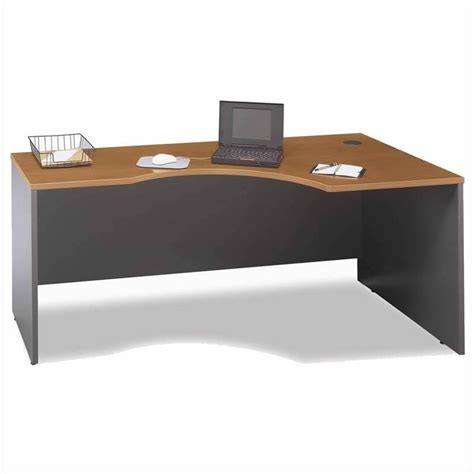 Left L Shaped Desk Bush Business Series C Cherry Left L Shaped Desk Bsc034 724