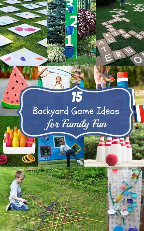 backyard family fun 15 backyard game ideas for family fun mom it forward