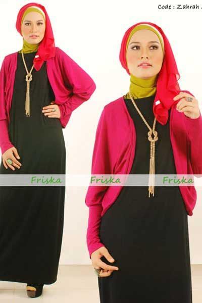 Gamis Sabrina Two Tone rumah madani busana muslim koleksi butik