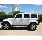 White Sahara Jeep Wrangler Unlimited  Carss Cars